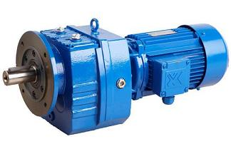 R Series Helical Geared Motor 2