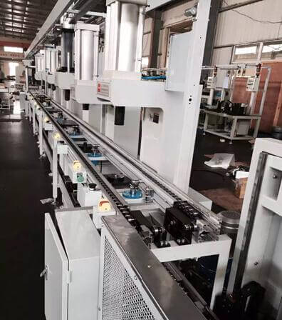 new production line for worm gear assembly